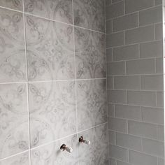 Ted Baker Partridge Grey Wall & Floor Tile 33x33cm
