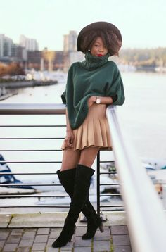 ecstasymodels:  Downtown Mz Cocoh  BGKI - the #1 website to view fashionable & stylish black girlsshopBGKI today