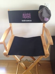 My director's chair from the Beautiful Creatures Movie!