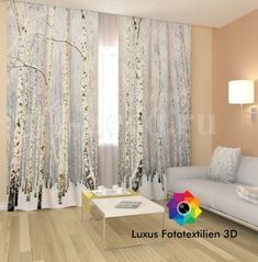 fotogardine vorhang gardine in luxus fotodruck 3d. Black Bedroom Furniture Sets. Home Design Ideas