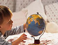 Suggested activities to help develop visual skills listed by age from 0-3 months to 4-5 years.