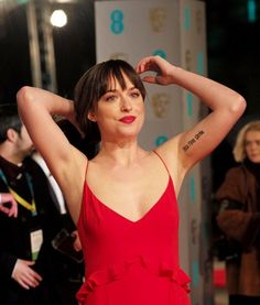 Dakota red dress look