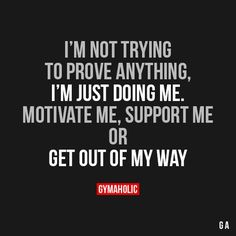 Gymaholic motivation to help you achieve your health and fitness goals. Try our free Gymaholic Fitness Workouts App. Motivacional Quotes, Great Quotes, Quotes To Live By, Doing Me Quotes, Motivational Quotes For Depression, Positive Quotes, Inspirational Quotes, The Words, Gym Quote