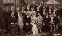 Wedding Group Kingswood Bristol 1920s.