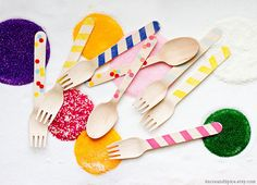 Wooden utensils from Sucre Shop - SucreShop.etsy.com
