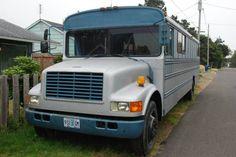 Diesel School Bus RV conversion - $8880 http://oregoncoast.craigslist.org/cto/4564153673.html