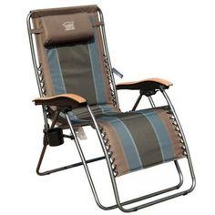 Timber Ridge Oversized XL Padded Zero Gravity Chair Supports 350lbs