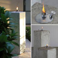 Oil Burner Column Chelsea - Poppy's Home & Garden