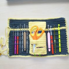 Crochet Hook Case By Sally V. George - Free Crochet Pattern - (ravelry)