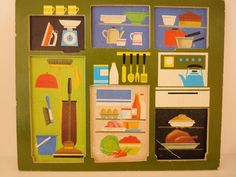 70s Galt Toy Plywood Puzzles