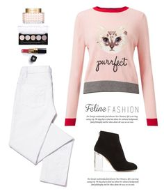 """..."" by yexyka ❤ liked on Polyvore featuring Miss Selfridge, Tory Burch, Charlotte Olympia, L.A. Colors, Valentino and Chanel"