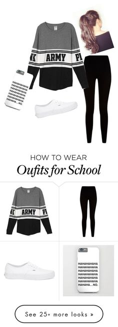 """Comfy for school"" by giuliascenna on Polyvore featuring Givenchy and Vans"