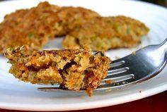 vegan crab cakes using okara! Now I need to make more soymilk just so I have some okara left over