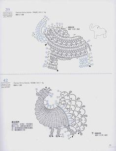 Ivelise Feito à Mão: Bichinhos Em Crochê Tipo Apliques