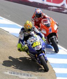 casey stoner 2008 | Valentino Rossi Casey Stoner Yamaha Ducati sacacorchos 2008 2