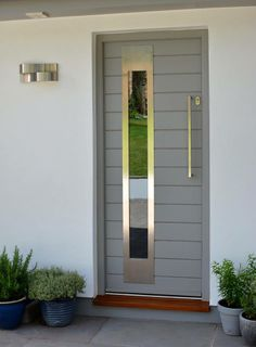Front Door painted in Little Greene's 'Lead Colour' sent in by Haydon and Son Ltd