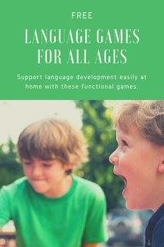 Our general language games target multiple speech and language skills at the same time. Speech Therapy Autism, Speech Language Pathology, Speech And Language, Receptive Language, Preschool Special Education, Speech Therapy Activities, Language Development, School Psychology, School Lessons