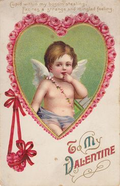 Valentines Vintage Card
