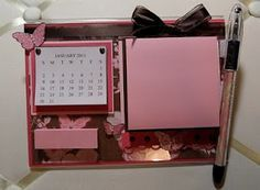 calendar and note holder - Google Search