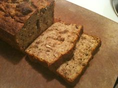 SCD Banana Bread (*Omit arrowroot flour, use honey for sweeteer & disregard chocolate chips option...)