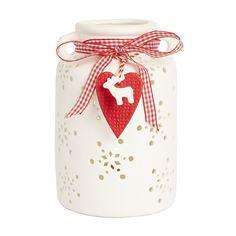 Porcelain Pitcher Candle Holder - Dobbies Garden Centres