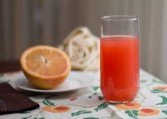 Citrus juices are best. Choose grapefruit or orange juice today.