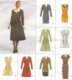 90s Vogue Easy Options Sewing Pattern 2193 Womens by CloesCloset