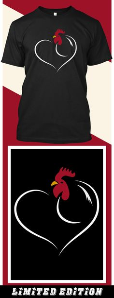 Chicken Love - Limited edition. Order 2 or more for friends/family & save on shipping! Makes a great gift!