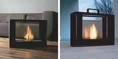 portable fireplace! Chimenea portatil