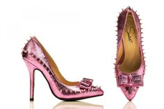 """Bring out the inner bad girl with the """"Princess Warrior."""" Available in Pink, Blue, Gold & Silver."""