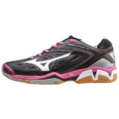 Mizuno Wave Stealth 3 teremcipő női fekete,pink Sport, Running Shoes, Fit, Waves, Sneakers, Products, Fashion, Adidas Women, Wish List