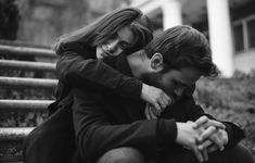 Couple Photoshoot Black And White - Couple Black And White Photography Portraits, Couple Photography Poses, Portrait Photography, Cute Couples Goals, Couples In Love, Romantic Couples, Relationship Pictures, Cute Relationships, Couple Posing