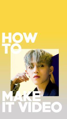 SVT SEVENTEEN How to Make IT Video lockscreen wallpaper kpop s.coups