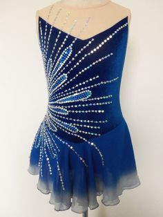 CUSTOM MADE TO FIT ICE SKATING BATON TWIRLING DRESS in Sporting Goods, Winter Sports, Ice Skating | eBay