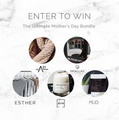 Esther.com.au is having a gorgeous Mother's Day Giveaway Bundle Giveaway! They're giving away an epic bundle to one lucky Mother