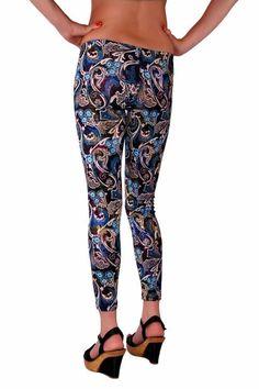 RedHotBest Paisley Pattern Fashion Tight - Şal Desenli Tayt, ModaBizde.com