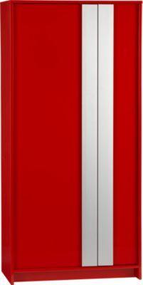 monolith red wardrobe in storage | CB2