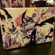 """""""'The Party' Laptop Skin available at http://nuvango.com/jimmahfood ! Thx for the photo @groovieghoul!"""" via https://twitter.com/JimMahfood/status/510116245312520193"""