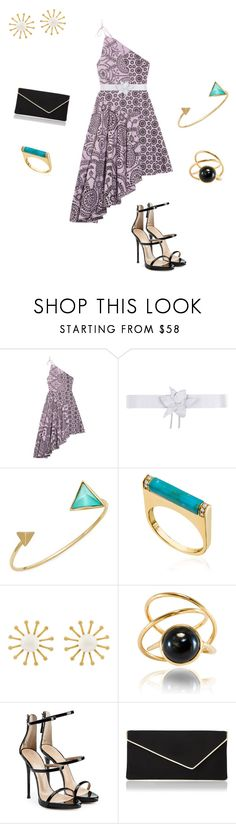 """Untitled #411"" by briettani-michael ❤ liked on Polyvore featuring Topshop Unique, Space Style Concept, Alexis Bittar, Sydney Evan, Meg Carter Designs, Giuseppe Zanotti and L.K.Bennett"
