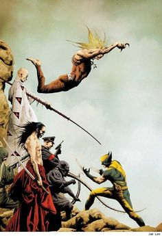 Best Art Ever (This Week) - 09.07.12 - ComicsAlliance | Wolverine by Jae Lee #Wolverine