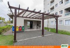 Paisagismo do Jardim de Toulon. Condomínio fechado de apartamentos localizado em Joinville / SC.