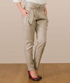calça social feminina alfaiataria - Pesquisa Google Calça De Linho  Feminina 75f5ce11bd419