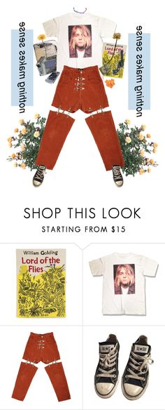 """""""Chlamydia!"""" by short-skirt-long-jacket ❤ liked on Polyvore featuring Olympia Le-Tan, M.Y.O.B., Converse, FRUIT and Gerber"""