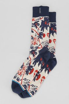 Stance Hula Crew Sock Online Only