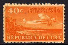 Cuba, 1931, Air Mail
