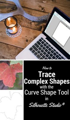 Tutorial: How to trace complex shapes using the Curve Shape tool in Silhouette Studio®