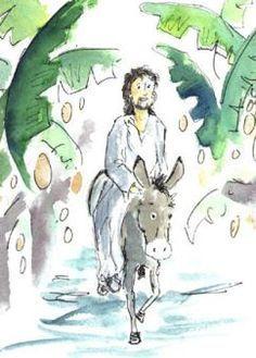 Fehlergeschichte Zum Einzug Nach Jerusalem Palmsonntag Kindergebet Kirche Fur Kinder