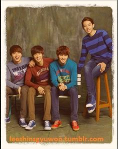 CNBLUE brothers YongHwa JongHyun MinHyuk JungShin  cnblue is love love love