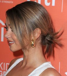 Pin for Later: This Festive Season Your Party Updo Is Worn Down Low Sarah Hyland