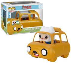 Hora de Aventura Bonecos Funko Pop! Série 3 com Carro Jake (Adventure Time)